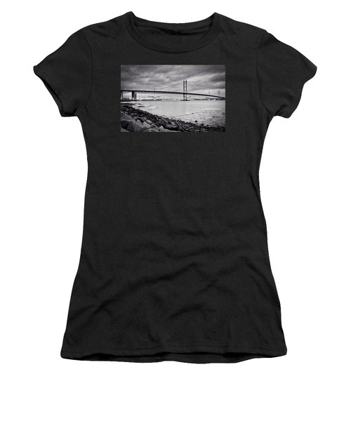 Evening At The Forth Road Bridges Women's T-Shirt