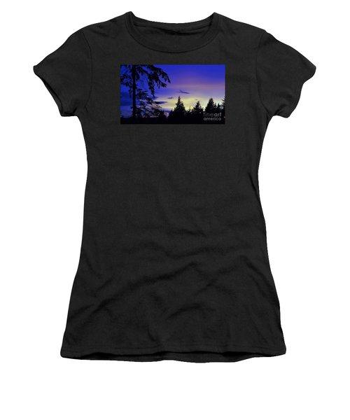 Evening Blue Women's T-Shirt