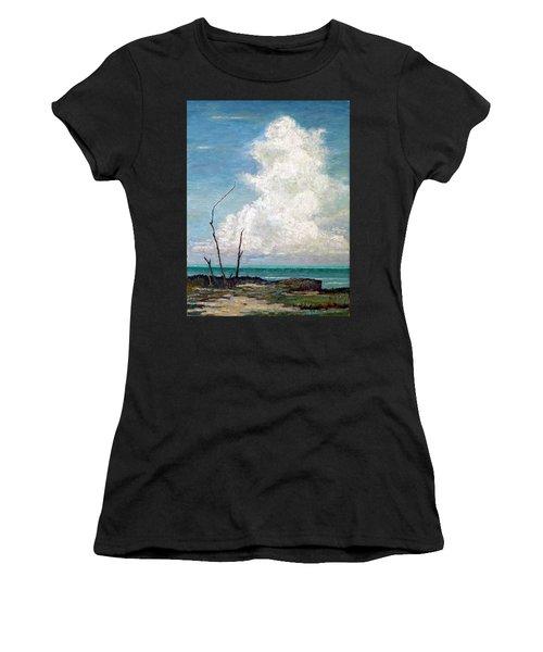 Evening Cloud Women's T-Shirt (Athletic Fit)