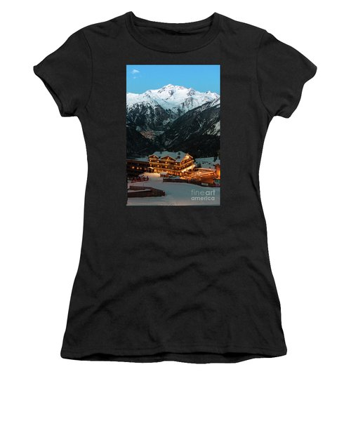 Evening Comes In Courchevel Women's T-Shirt