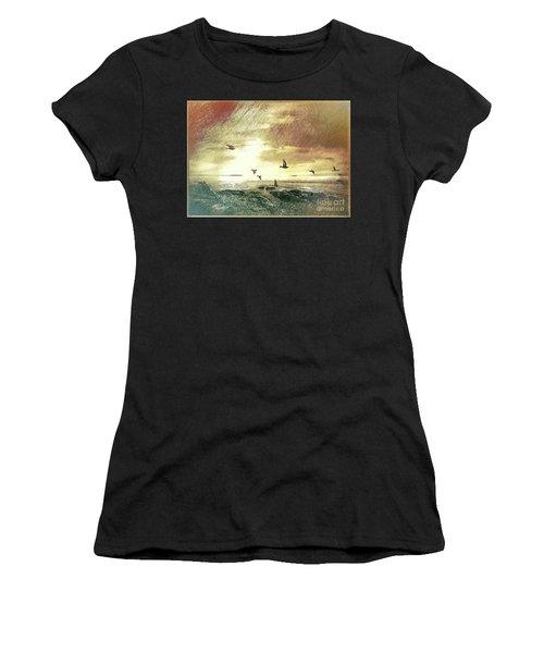 Evening Flight Women's T-Shirt