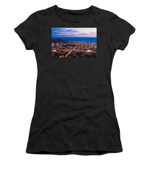 Evening In Honolulu Women's T-Shirt (Athletic Fit)