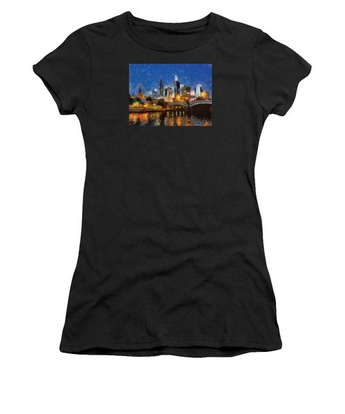 Evening In Melbourne Women's T-Shirt (Athletic Fit)