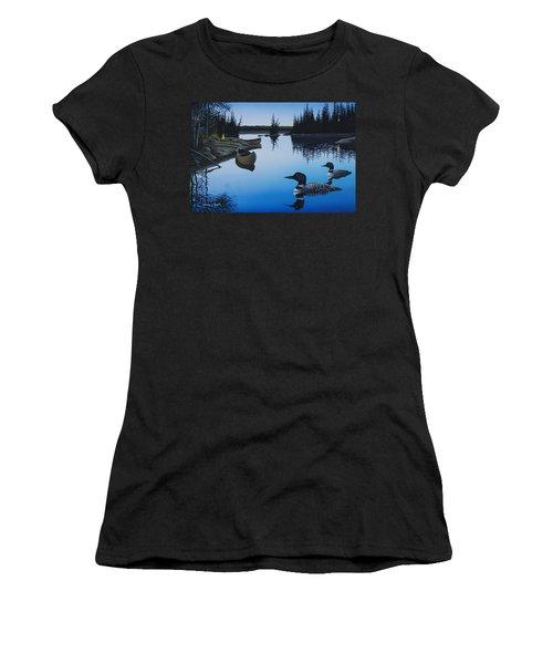 Evening Loons Women's T-Shirt
