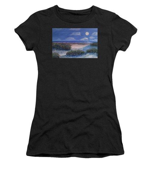 Evening Moon Women's T-Shirt