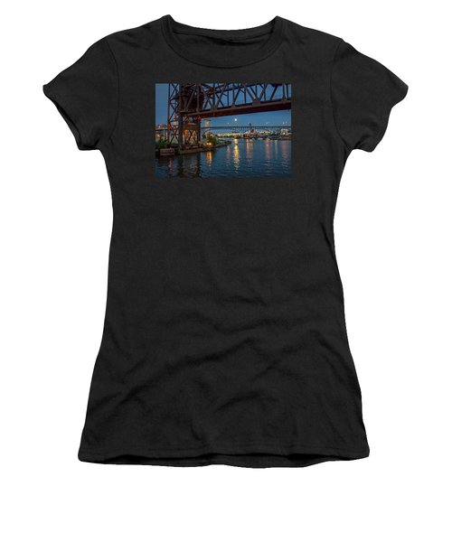 Evening On The Cuyahoga River Women's T-Shirt