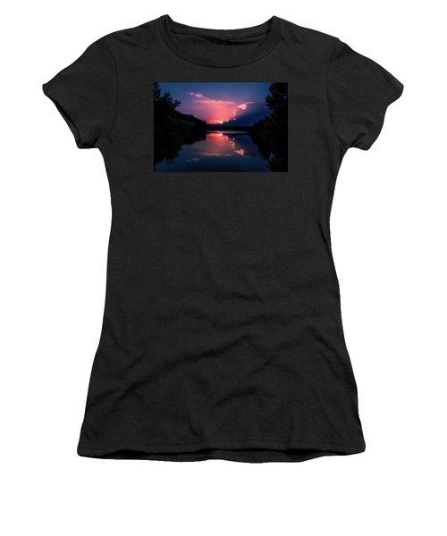 Evening Reflection Women's T-Shirt