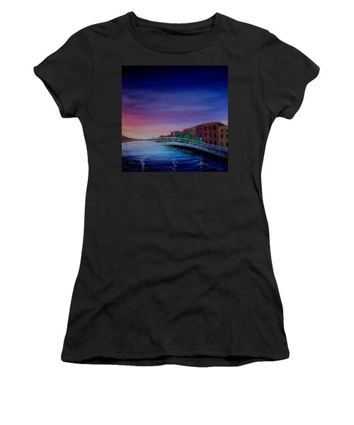 Evening Reflections Dublin  Women's T-Shirt (Athletic Fit)