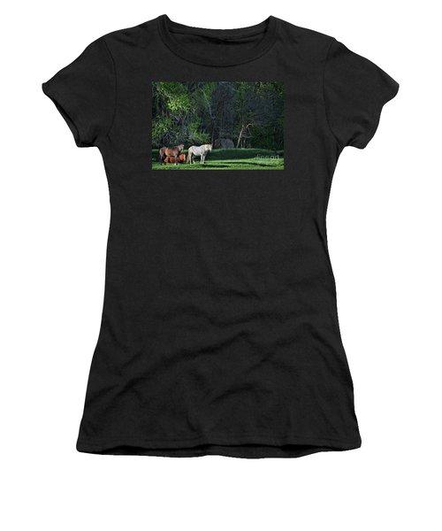 Evening Rest Women's T-Shirt (Athletic Fit)