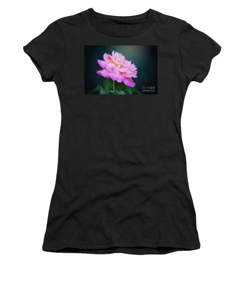 Evening Rose Women's T-Shirt (Athletic Fit)