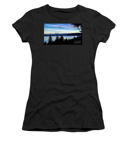 Evening Sky Women's T-Shirt (Athletic Fit)