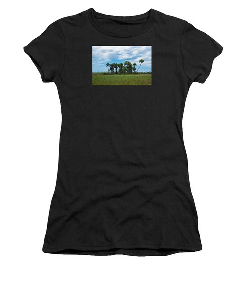 Everglades Landscape Women's T-Shirt (Athletic Fit)