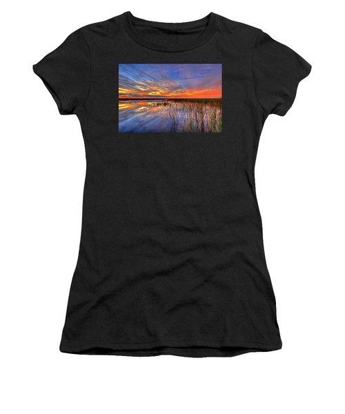 Everglades Sunset Women's T-Shirt
