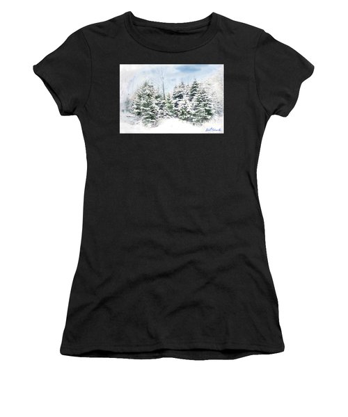 Evergreens Women's T-Shirt (Athletic Fit)