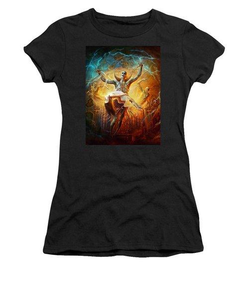 Evil God Women's T-Shirt (Athletic Fit)