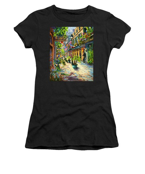 Exchange Alley Women's T-Shirt (Athletic Fit)
