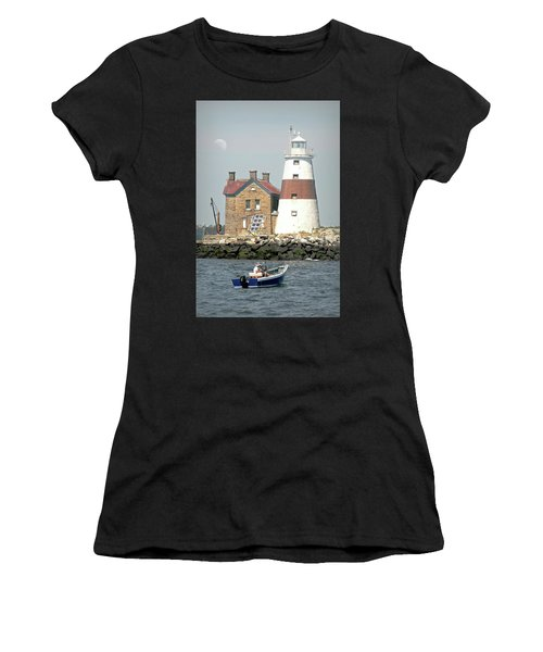 Execution Rocks Lighthouse Women's T-Shirt (Athletic Fit)