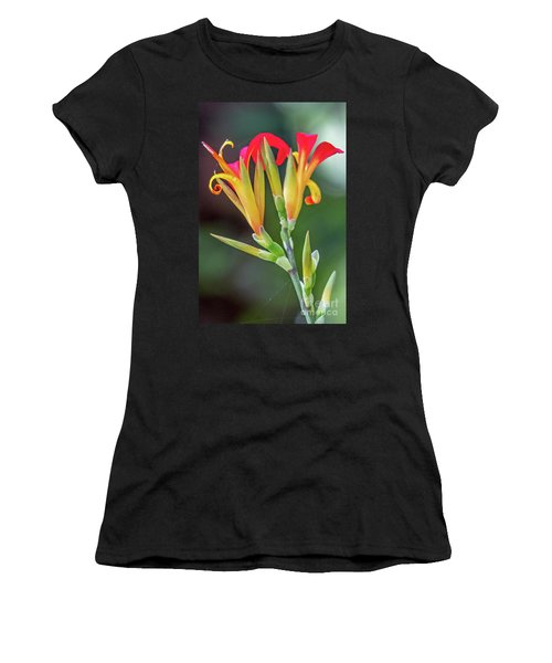Women's T-Shirt featuring the photograph Exotic Flowers by Kate Brown