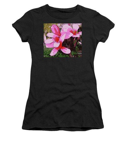 Exuberance Women's T-Shirt (Junior Cut) by Winsome Gunning
