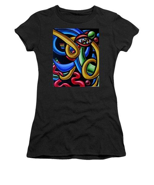 Eye Am The Prize - Chromatic Abstract Art Painting - Print - Ai P. Nilson Women's T-Shirt