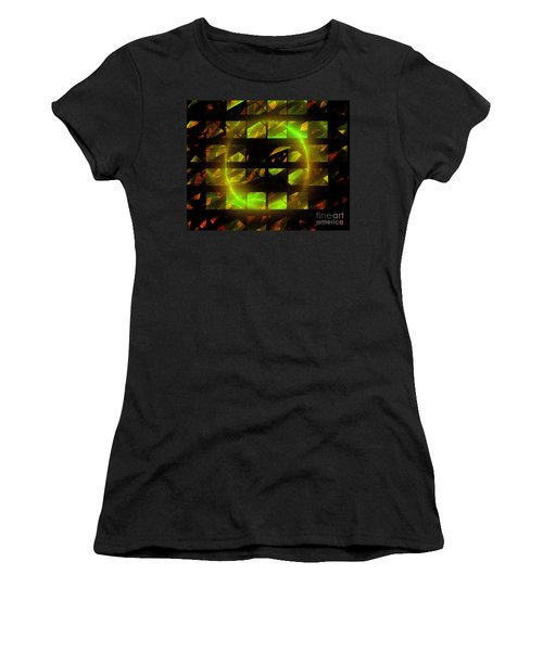 Eye In The Window Women's T-Shirt (Athletic Fit)