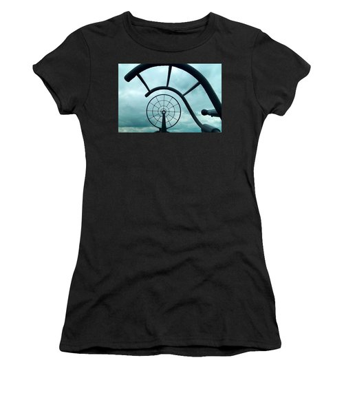 Eye Of History  Women's T-Shirt (Athletic Fit)