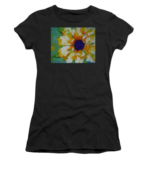 Eye Of The Flower Women's T-Shirt (Athletic Fit)