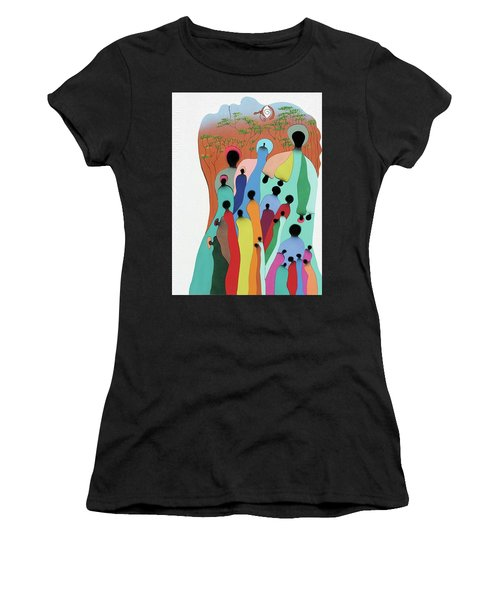 Eye Of The Spirit Women's T-Shirt (Athletic Fit)