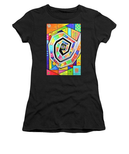 Eye Of The Storm Women's T-Shirt (Athletic Fit)
