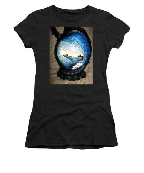 Eye Of The Wave 1 Women's T-Shirt (Junior Cut)