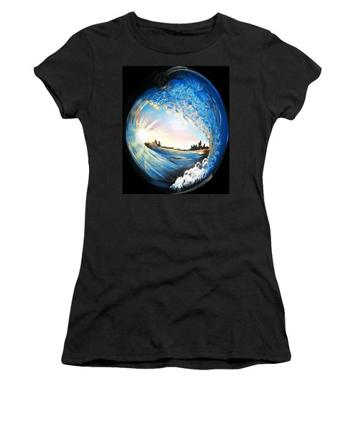 Eye Of The Wave Women's T-Shirt