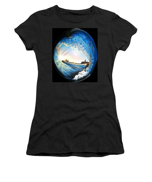 Eye Of The Wave Women's T-Shirt (Junior Cut)