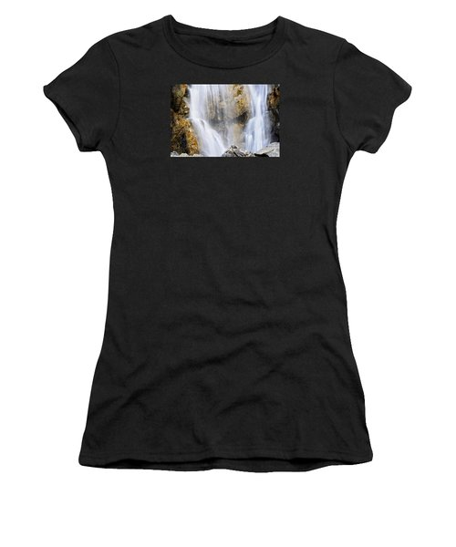 Eyes In The Rocks- Holland Falls  Women's T-Shirt (Athletic Fit)