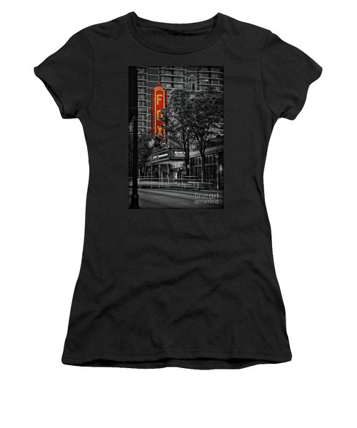 Fabulous Fox Theater Women's T-Shirt (Athletic Fit)