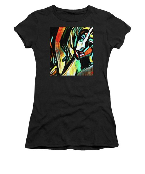 Face #64 Women's T-Shirt (Athletic Fit)