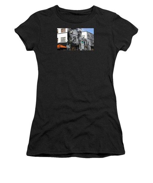 Face Building Women's T-Shirt (Athletic Fit)