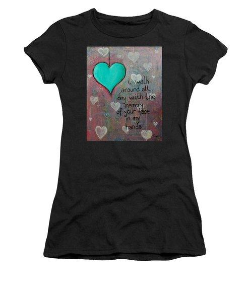 Face In My Hands Women's T-Shirt