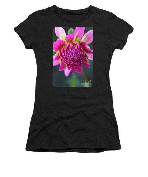 Face Of Dahlia Women's T-Shirt