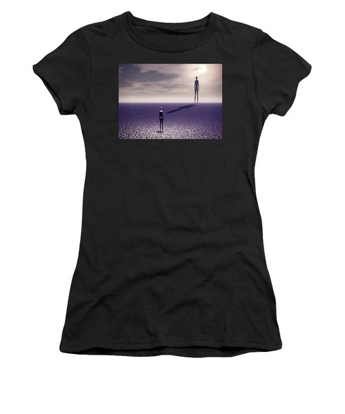 Facing The Future Women's T-Shirt (Athletic Fit)
