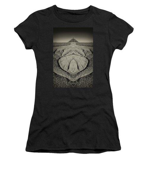 Factory Butte Digital Art Women's T-Shirt