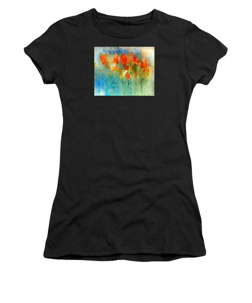 Faded Warm Autumn Wind Women's T-Shirt (Athletic Fit)