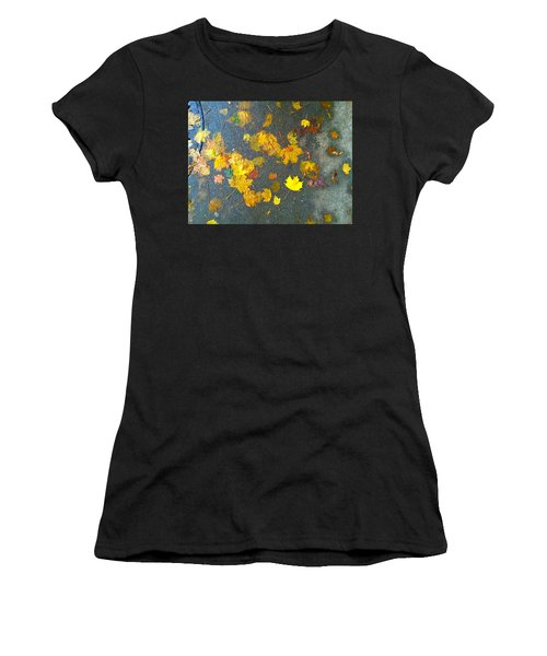 Fading Leaves Women's T-Shirt
