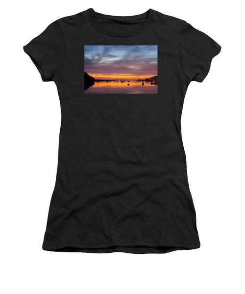 Fading Light, Conwy Estuary Women's T-Shirt