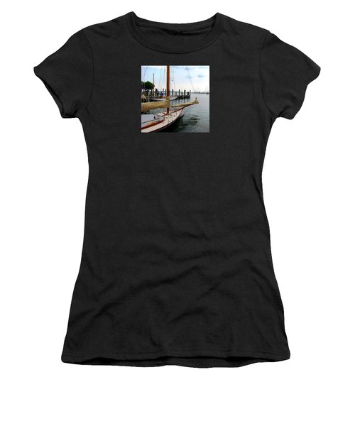 Fair Weather Annapolis  Women's T-Shirt (Athletic Fit)