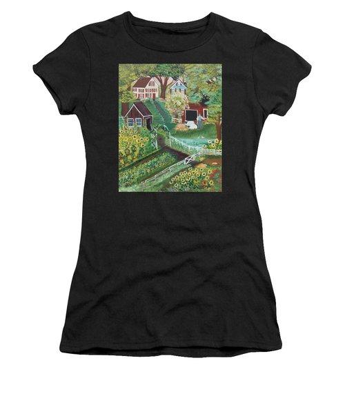 Fairview Farm Women's T-Shirt (Athletic Fit)