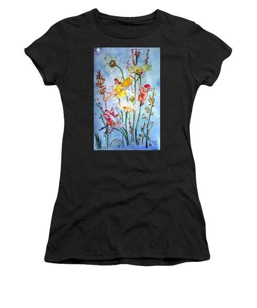 Fairy Babies Women's T-Shirt (Athletic Fit)