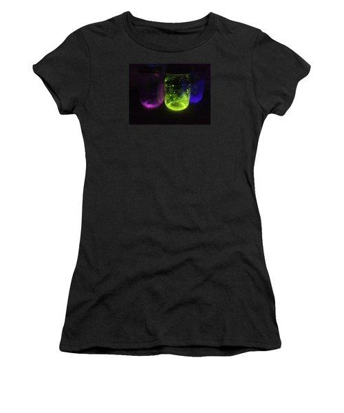 Fairy Jars Women's T-Shirt (Junior Cut) by Shelby Burhans