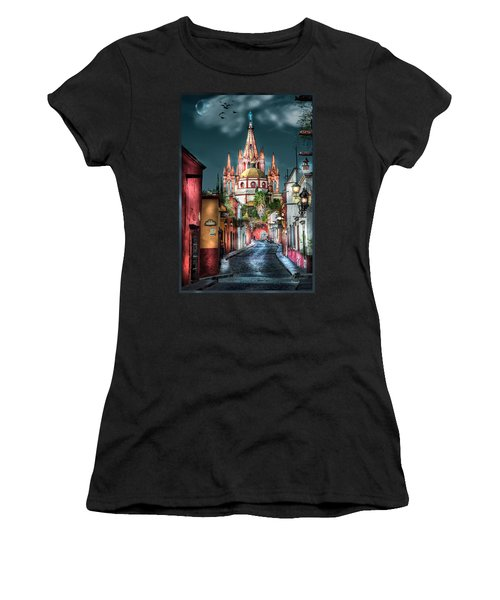 Fairy Tale Street Women's T-Shirt (Athletic Fit)