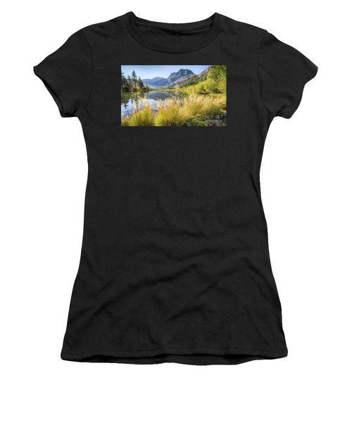 Fall Along The Creek Women's T-Shirt (Athletic Fit)