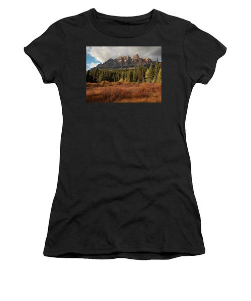 Fall At Castle Mountain Women's T-Shirt